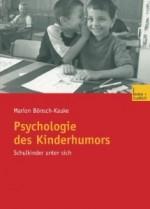 Bönsch-Kauke Psychologie des Kinderhumors